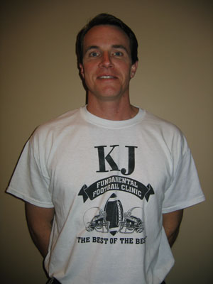 KJ Fundamental Football Clinic Coach Bowman