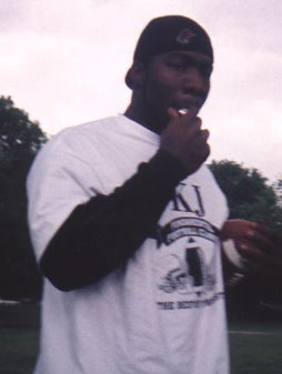 KJ Fundamental Football Clinic Coach Jones Picture