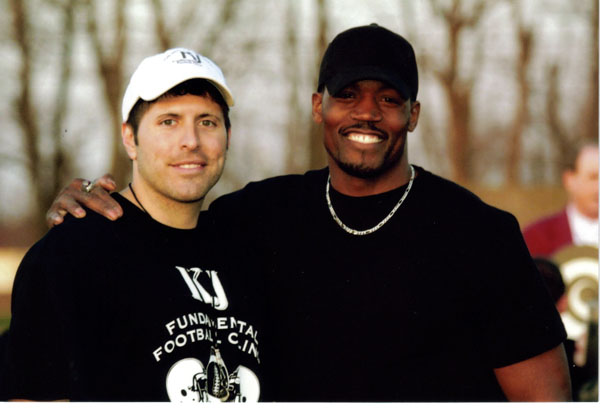 KJ Fundamental Football Clinic Guest Speaker Tony Stallings